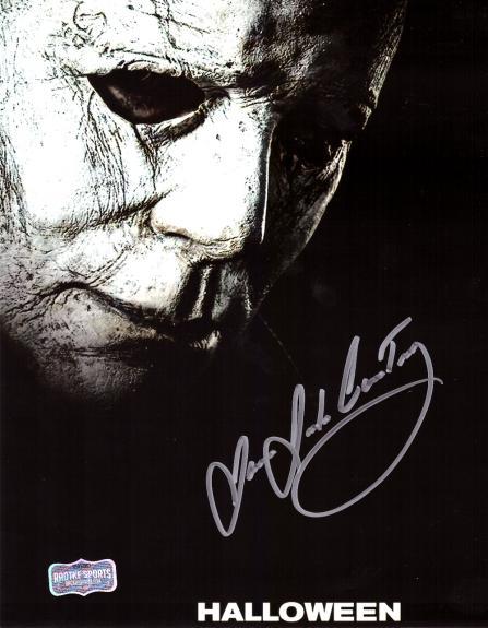 "James Jude Courtney ""Michael Myers"" Signed Halloween 8×10 Photo"