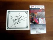 James Lovell Apollo 13 Nasa Astronaut Signed Auto Book Plate Jsa Authentic Gem