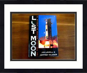 James Lovell Apollo 13 Nasa Astronaut Signed Auto Lost Moon Book Jsa Authentic