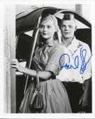 James Macarthur & Carol Lynley Signed B&w Photo Autograph Walt Disney Movie