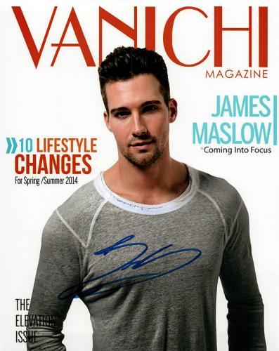 James Maslow Good Time Rush Signed Photo UACC RD AFTAL RACC TS