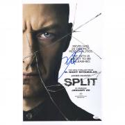 "James McAvoy Split Autographed 11"" x 17"" Movie Poster - JSA"