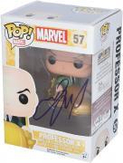 James McAvoy X-men Autographed #57 Professor X Funko Pop! - JSA