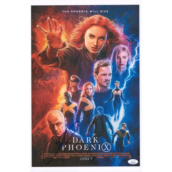 "James McAvoy X-Men: Dark Phoenix Autographed 12"" x 18"" Movie Poster - JSA"
