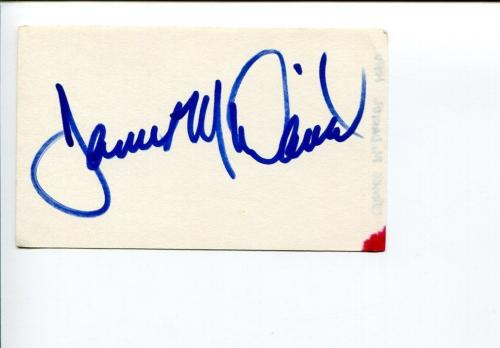 James McDaniel NYPD Blue Stargate SG-1 Orange Is the New Black Signed Autograph