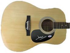 James Mercer Signed Acoustic Guitar The Shins Broken Bells Psa/dna #w78130