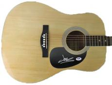 James Mercer Signed Acoustic Guitar The Shins Broken Bells Psa/dna #w78131