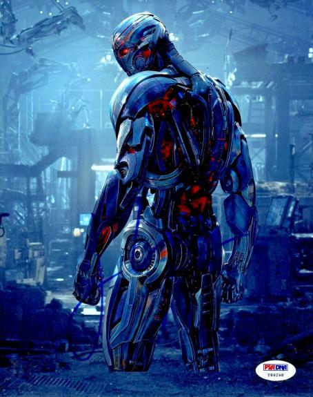 "James Spader Autographed Avengers: Age of Ultron 8"" x 10"" Photo PSA DNA COA"