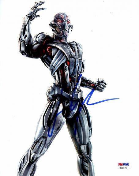 James Spader Autographed Avengers: Age of Ultron 8 x 10 Photo PSA DNA COA