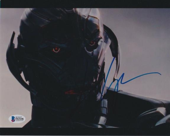 James Spader Signed 8x10 Photo Avengers Ultron Beckett Bas Autograph Auto Coa Aa