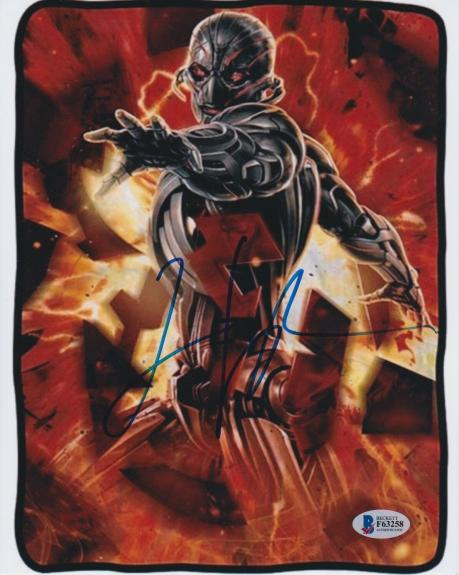 James Spader Signed 8x10 Photo Avengers Ultron Beckett Bas Autograph Auto Coa O