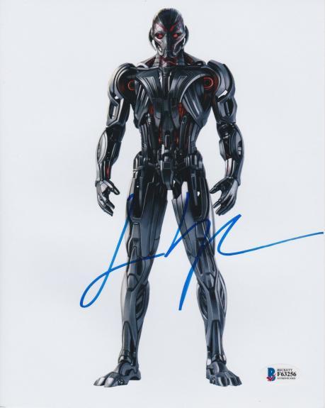 James Spader Signed 8x10 Photo Avengers Ultron Beckett Bas Autograph Auto Coa Q
