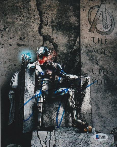 James Spader Signed 8x10 Photo Avengers Ultron Beckett Bas Autograph Auto Coa S