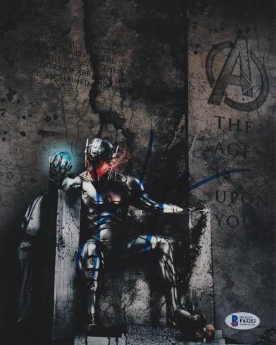 James Spader Signed 8x10 Photo Avengers Ultron Beckett Bas Autograph Auto Coa T