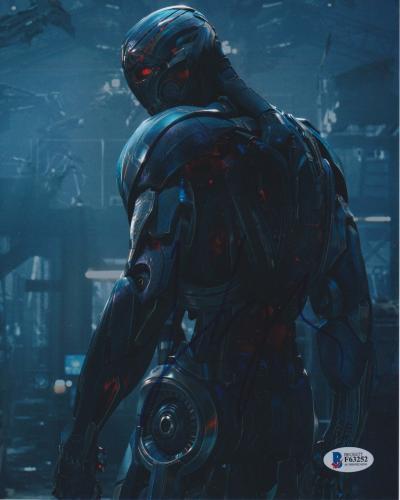 James Spader Signed 8x10 Photo Avengers Ultron Beckett Bas Autograph Auto Coa U