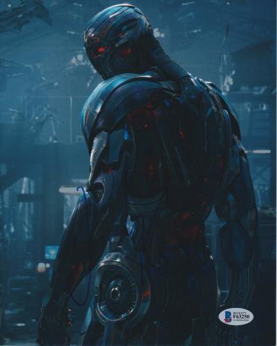 James Spader Signed 8x10 Photo Avengers Ultron Beckett Bas Autograph Auto Coa W