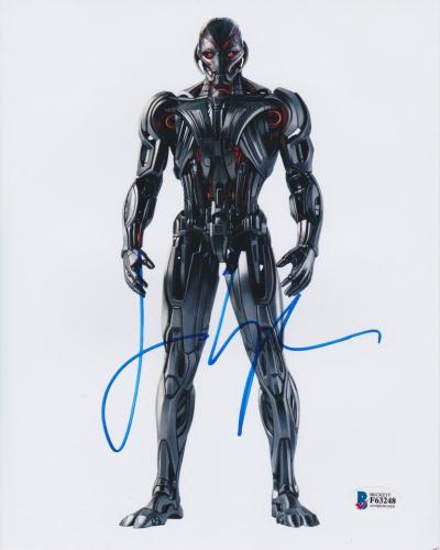 James Spader Signed 8x10 Photo Avengers Ultron Beckett Bas Autograph Auto Coa Y