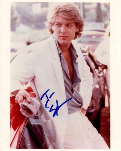 James Spader Signed Autograph 8x10 Photo - Young Pretty In Pink Stud, Blacklist
