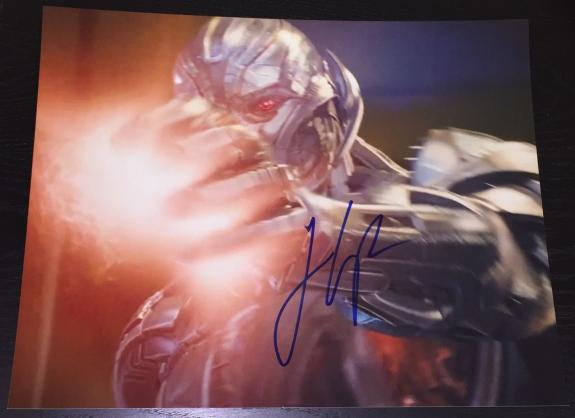 """James Spader Signed Autograph """"avengers 2 Age Of Ultron"""" Intense New 11x14 Photo"""