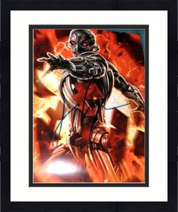 """James Spader Signed Autograph """"avengers 2 Age Of Ultron"""" Rare Promo 8x10 Photo"""
