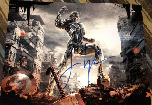 JAMES SPADER SIGNED AUTOGRAPH AVENGERS MARVEL ULTRON RARE 11x14 PHOTO COA B