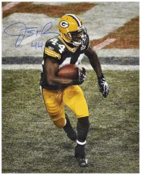 James Starks Signed Photograph - 16x20 Mounted Memories