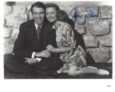 "JAMES STEWART as GEORGE BAILEY in the 1946 CHRISTMAS CLASSIC ""IT'S A WONDERFUL LIFE"" (Passed Away 1997) Signed 8x10 B?W PHOTO"