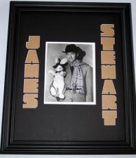 JAMES STEWART Autographed CUSTOM RARE Display PSA/DNA