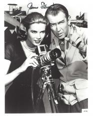 "JAMES STEWART in 1954 Movie ""REAR WINDOW"" as L.B. JEFF JEFFERIES (Passed Away 1997) - Signed 8x10 B/W Photo"