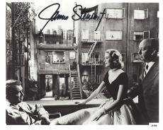 """JAMES STEWART in """"REAR WINDOW"""" as L.B. JEFF JEFFERIES (Passed Away 1997) - Signed 10x8 B/W Photo"""
