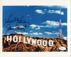 JAMES STEWART+SOPHIA LOREN HAND SIGNED 8x10 PHOTO       SIGNED BY BOTH      JSA