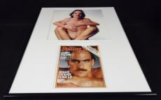 James Taylor 16x20 Framed Rolling Stone Cover Display