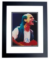 James Taylor Signed - Autographed 8x10 Concert Photo BLACK CUSTOM FRAME - Guaranteed to pass PSA or JSA