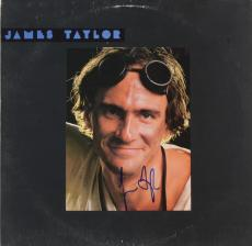 James Taylor Autographed Dad Loves His Work Album Cover - PSA/DNA COA