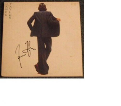 James Taylor Autographed In The Pocket Album Signed Coa