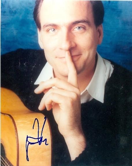 James Taylor autographed photo 8x10