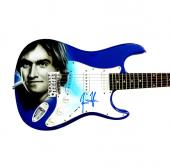 James Taylor Autographed Signed Custom Airbrush Guitar Exact Photo Proof