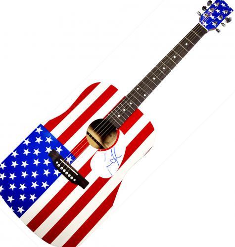 James Taylor Autographed Signed USA Acoustic Guitar UACC RD COA AFTAL