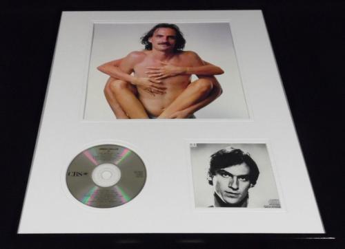 James Taylor Framed 16x20 JT CD & Shirtless Photo Display