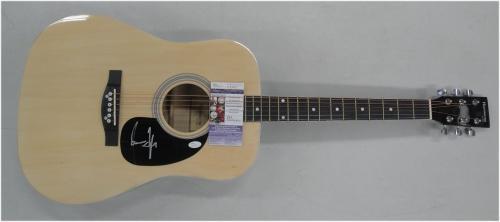 James Taylor Hand Signed Auto Guitar Rock Star Legend JSA V53607