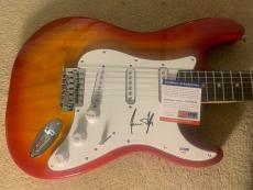 James Taylor IP Signed Autographed Electric Guitar PSA Certified Sweet Baby Jane