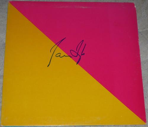 James Taylor Jt Signed Authentic Autograph Album In-person Coa B