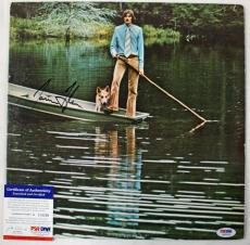 James Taylor One Man Dog Signed Album Cover W/ Vinyl PSA/DNA #G83659