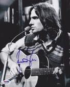 James Taylor SIGNED 8x10 Photo Fire and Rain You've Got a Friend PSA/DNA