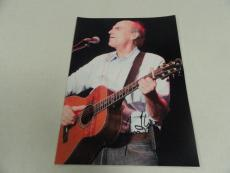 James Taylor Signed 8x10 Photo Sweet Baby James Legend Rare