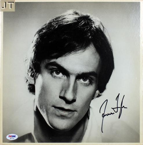 James Taylor Signed Album Cover Autographed PSA/DNA #S67191