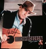 James Taylor Signed Autograph Classic Legendary Singer Guitar 8x10 Photo Coa B