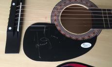 James Taylor Signed Autograph New Full Natural Wood Acoustic Guitar Jsa 92322