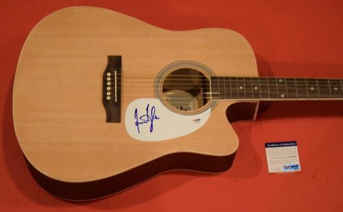 James Taylor Signed Autographed Acoustic Guitar PSA/DNA COA