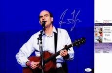 James Taylor Signed - Autographed Folk Rock Singer Songwriter Concert 11x14 inch Photo - JSA Certificate of Authenticity